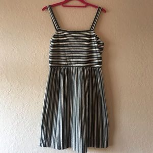 LOFT stripped dress NWTS perfect condition